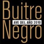 Buitre Negro, Ave del Año 2010